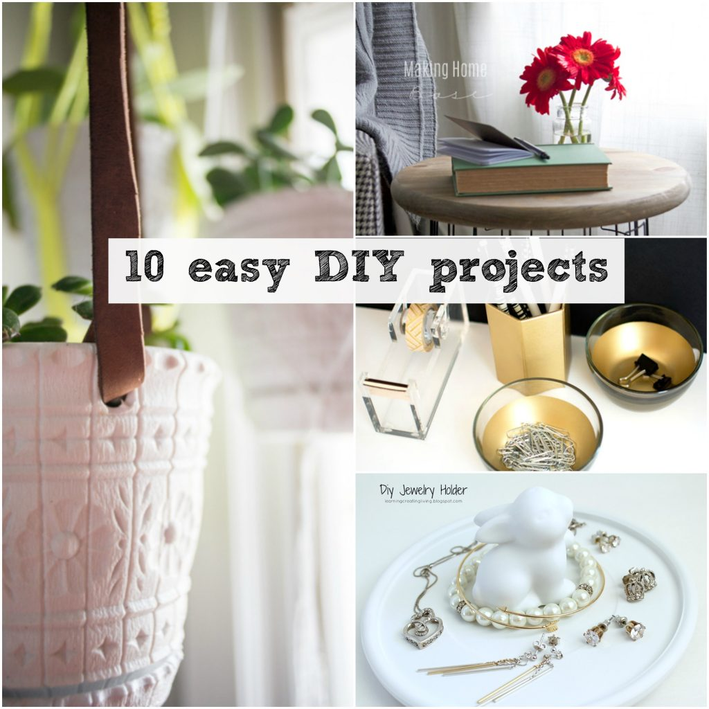 10 easy diy projects around the house taryn whiteaker for Diy crafts with things around the house