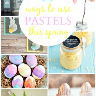 14 Ways To Use Pastels (Link Party Features)