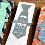 Father's Day Gift Ideas: We're Tied Together Printable