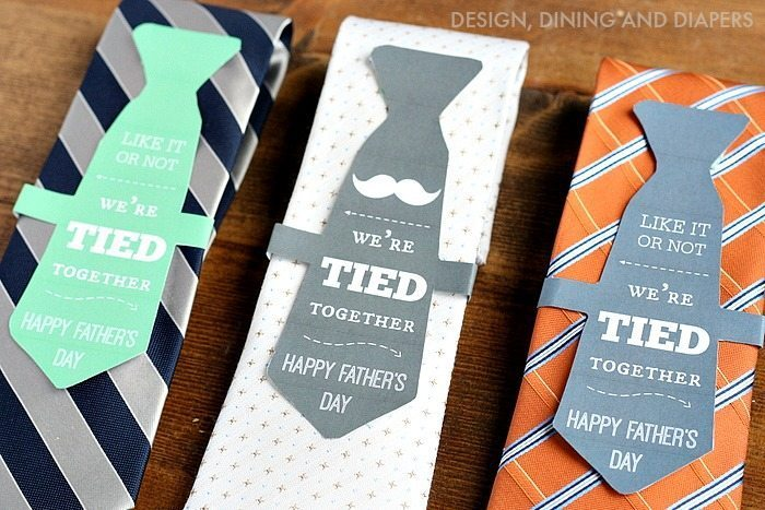 father s day gift ideas we re tied together printable taryn whiteaker