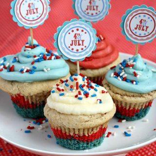 Patriotic Cupcakes and 100+ More Ideas!
