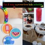 Easy Summertime Activities