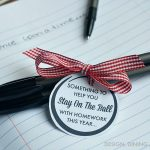 Back To School Printable: Stay On The Ball With Homework