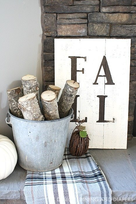 DIY Rustic Fall Sign | Timeless Rustic Decor For Fall