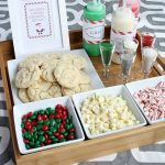 Christmas Cookie Decorating Station