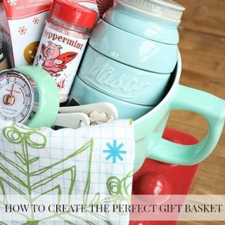 How To Create The Perfect Gift Basket + Free Printable