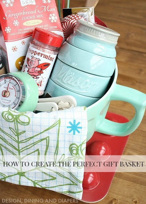 Great Tips And Tricks On How To Create The Perfect Gift Basket Love This Baking