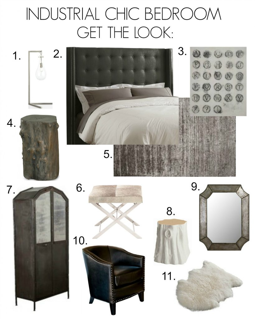 Exceptionnel Industrial Chic Bedroom Inspiration   Click To Get The Look