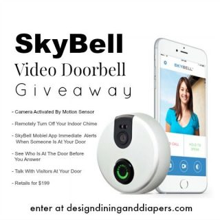 SkyBell Video Doorbell Giveaway