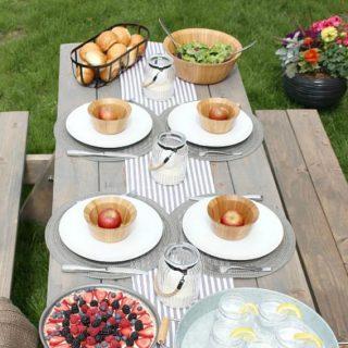 DIY Picnic Table Kit