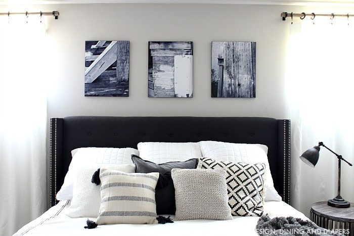 Black And White Master Bedroom Updates Giveaway Taryn