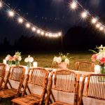 How to Hang String Lights in Backyard