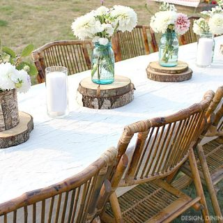 Rustic Outdoor Party