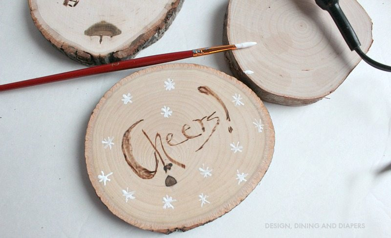 Diy Gift Idea Personalized Wood Burned Coasters Taryn Whiteaker