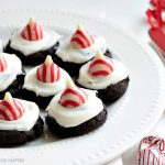 Gluten Free Dark Chocolate Peppermint Cookies