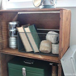 Trash To Treasure: Apple Crate Bookcase