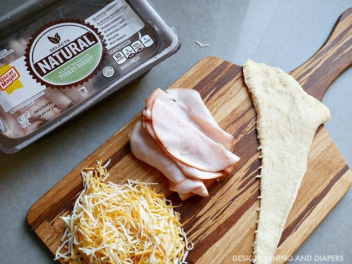 Turkey Cheese Rolle Ups with Oscar Mayer Selects Natural