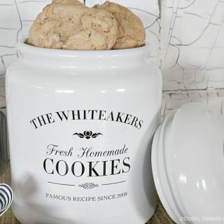 Gift Idea: Personalized Cookie Jar