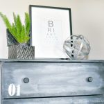 IKEA HACK: DIY Faux Metal Dresser