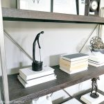 One Room Challenge: Industrial Bookcase For The Office