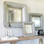 Sawhorse Console Table Entry Way Display