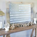 DIY Rustic American Flag Sign