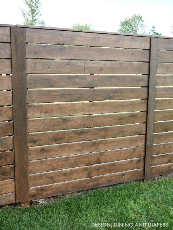 Horizontal Fence Design