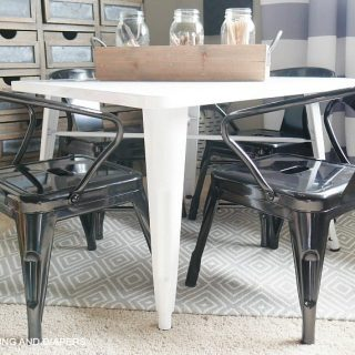 Farmhouse Kid's Table and Chair Set
