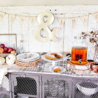 Sugar & Spice Fall Bunting Printable