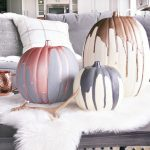 Modern Metallic Pumpkins