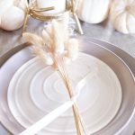 Simply Elegant Fall Table Setting