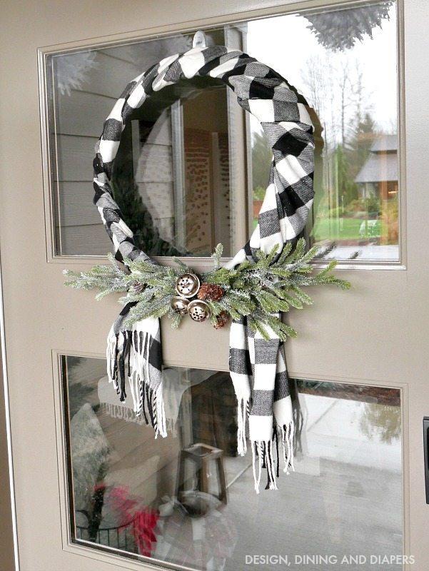 Black White Plaid Christmas Tour