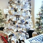 Black and White Woodland Christmas Tree