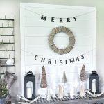 DIY Shiplap Display Wall