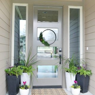 Front Porch Planter Ideas