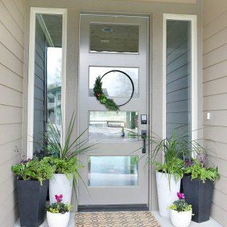 Front Porch Planter Ideas