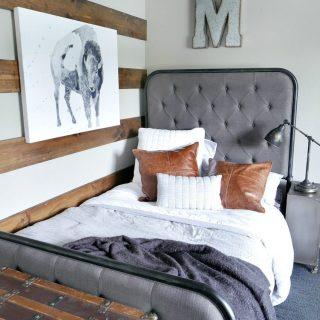 Rustic Modern Boy Room