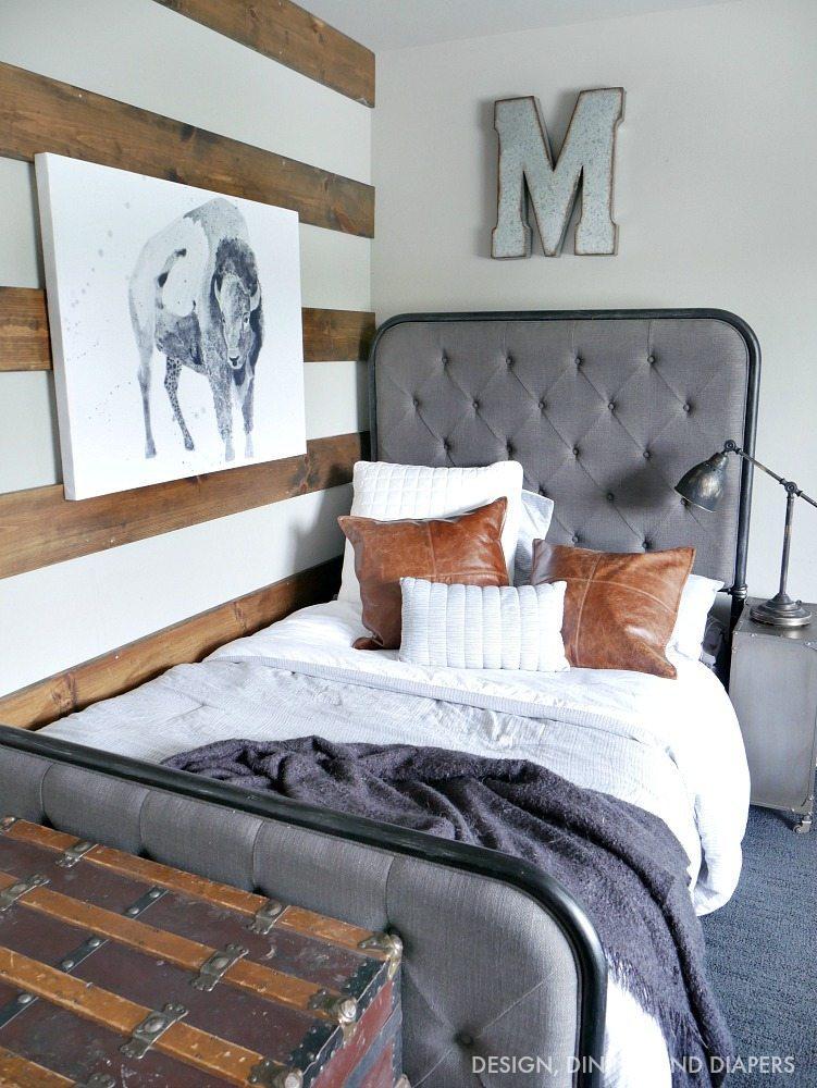 Brand new Rustic Modern Boy Room - Taryn Whiteaker DA15