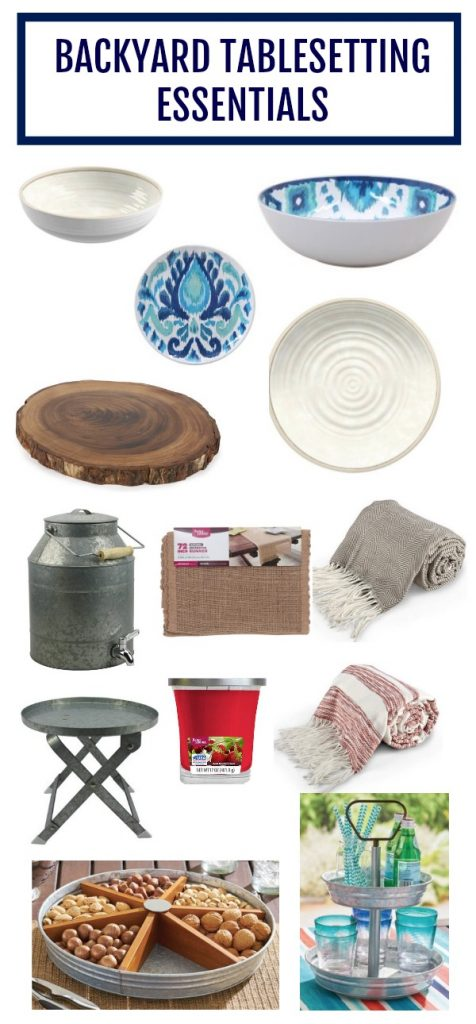 Get the look! Tons of great summer entertaining ideas with these inexpensive items that will wow your guests.