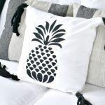 DIY Pineapple Tassel Pillow
