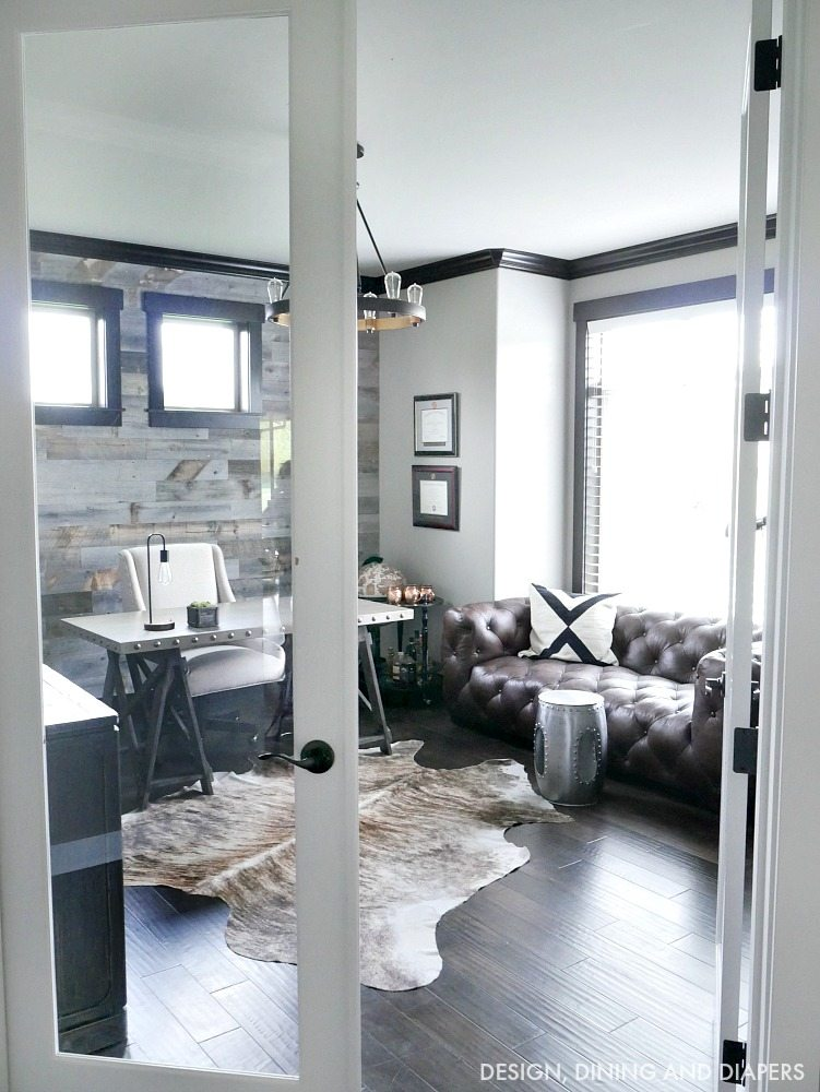 rustic modern office. Modern Rustic Office I