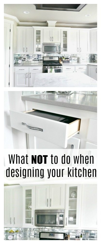 What NOT To Do When Designing Your Kitchen