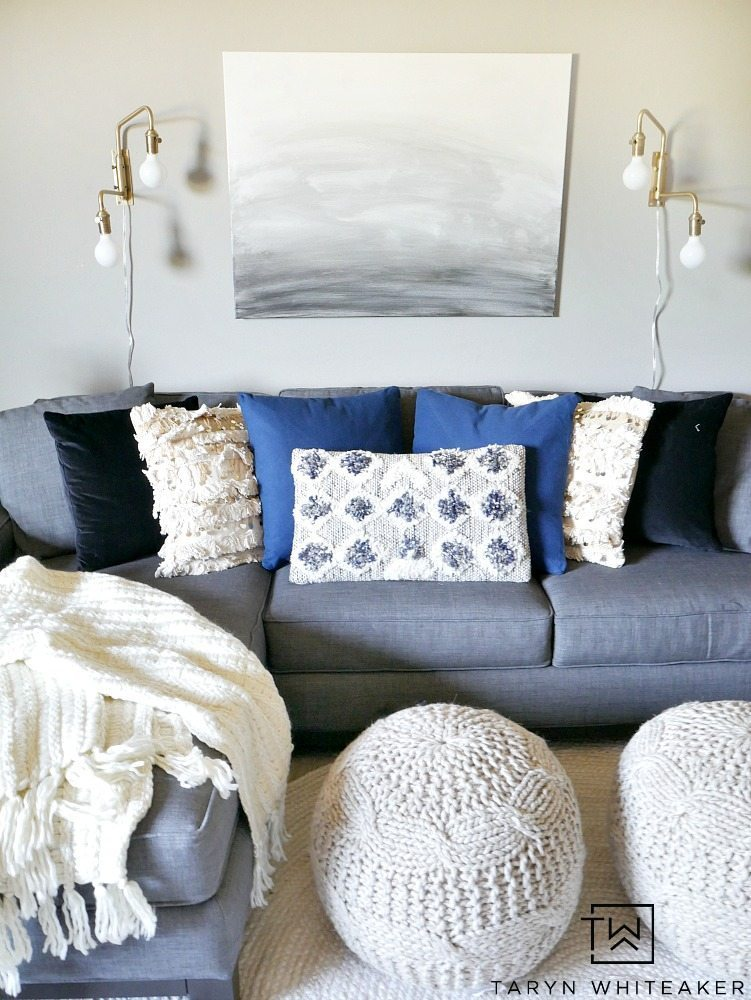 bonus room update - modern boho decor - taryn whiteaker