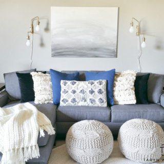Bonus Room Update – Modern Boho Decor