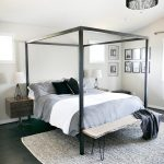 Master Bedroom Update - Steel Canopy Bed and Bedding
