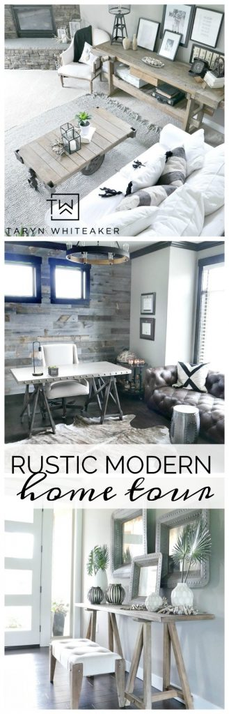Click to take a tour of this Rustic Modern Home filled with unique pieces and classic touches. If you are local for neutral decor inspiration, this is for you!