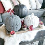 DIY Drilled Pumpkins