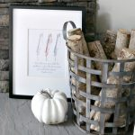 FREE Fall Feather Printable