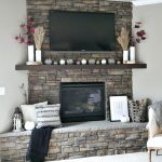 Modern Boho Fall Mantel
