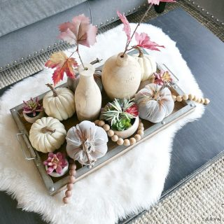 Modern Boho Fall Centerpiece